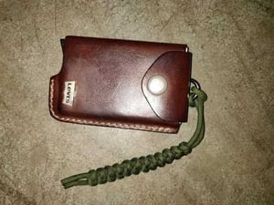Paracord Lanyard For Card Holder