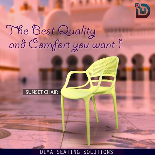 Sturdier Body Outdoor Cafe Chair