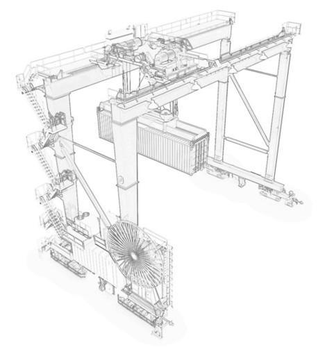 Heavy Duty Gantry Cranes