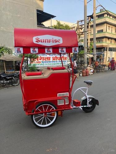 Ice Cream Tricycle With Powder Coated Paint