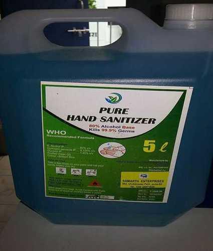 Pure Hand Sanitizer 5l