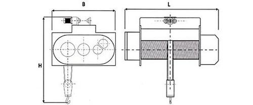 Wire Rope Hoist Diagram