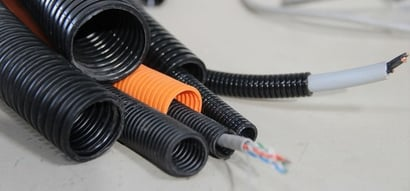 High Strength Polyamide Conduit Application: To Protect The Cables
