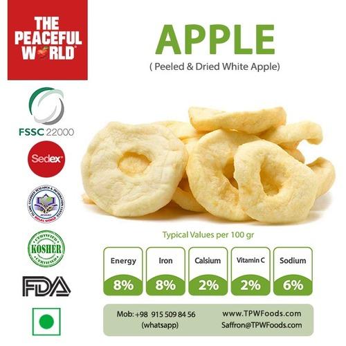 Peeled And Dried Apple