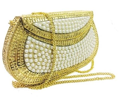 Sequin Beaded Fancy Bags For Ladies