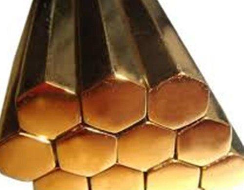 Pure Brass Hex Bars