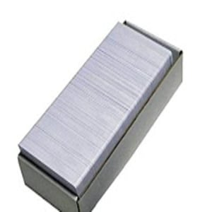 Finely Finished Blank Pvc Card