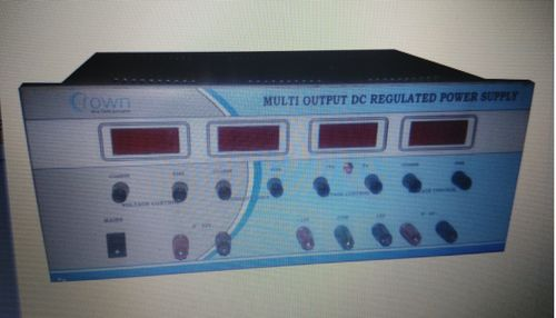 Multi Output Dc Regulated Power Supply