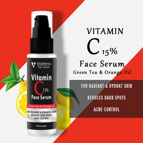 50ml Volamena Vitamin C Face Serum For Men