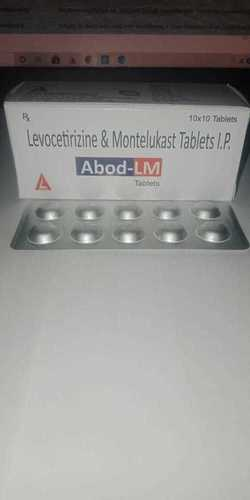 Levocetrizine Di Hcl And Montelukast Sod Tab Antialergic Tab