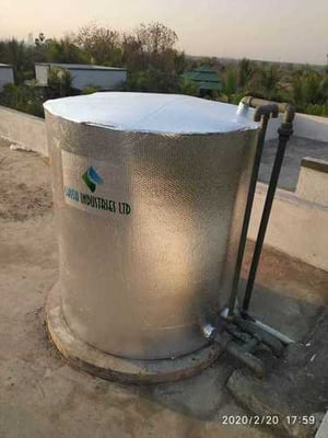 Water Tank Insulation Cover