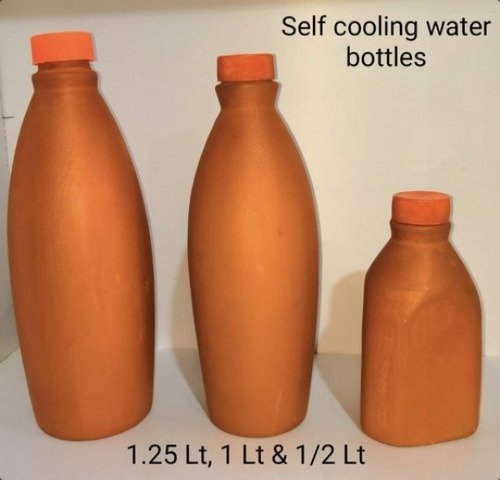 Clay Self Cooling Water Bottle