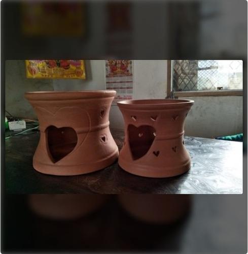 Fancy Designer Terracotta Stove