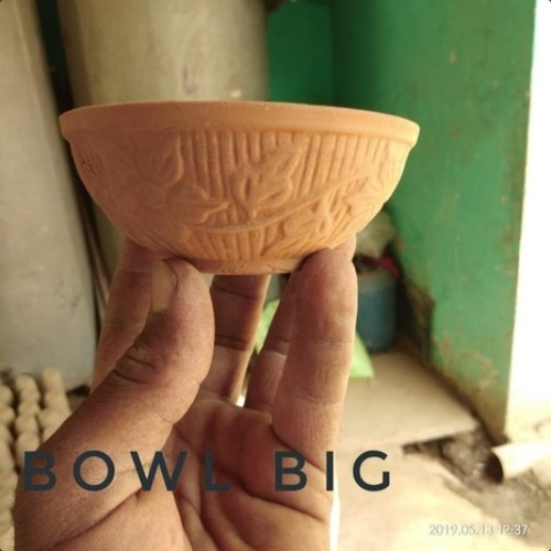 Terracotta Round Shape Bowl