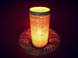 Durable Bamboo Table Lamp