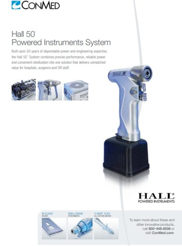 Hall 50 Powered Instruments System