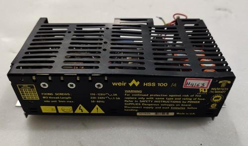 Weir Hss 100 Power Supply