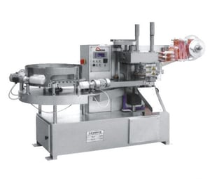 Ball Lollipop Wrapping Machine For Chocolate Product