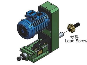 ST1N Tapping Spindle Head