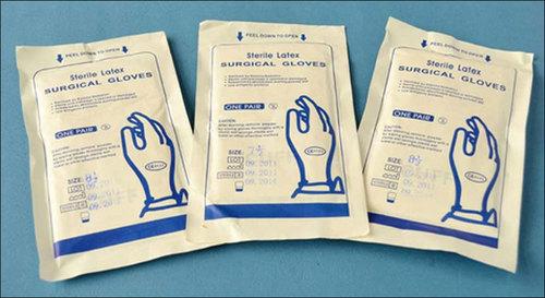 Latex Surgical Plain Gloves