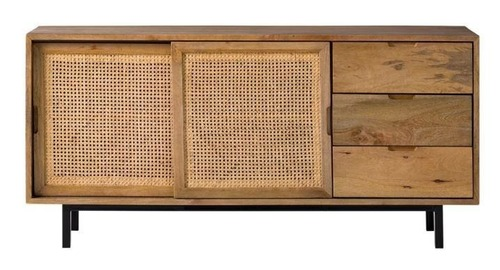 2 Cabinets Sarah Wooden Sideboard