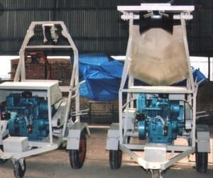 Portable Industrial Sewer Cleaning Machine