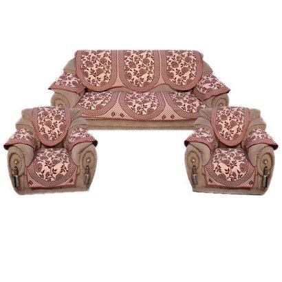 Embroidered Trendy Design Sofa Cover Set