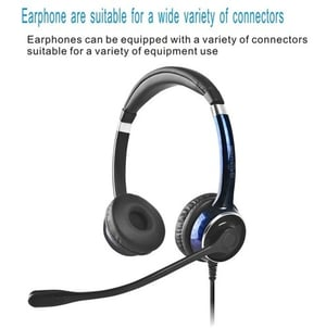 FC22 Business Telephone Headset With Microphone