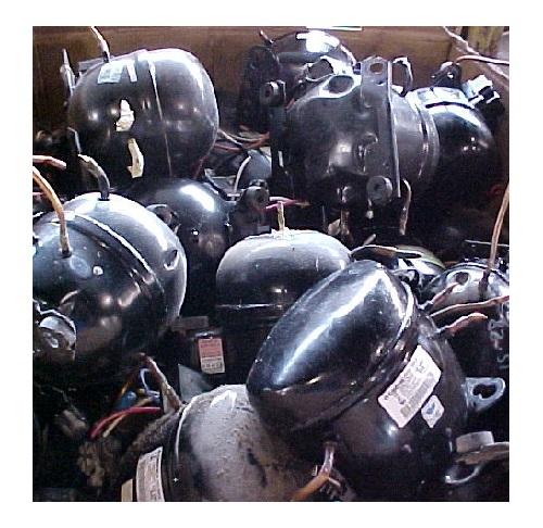 Waste Fridge AC Compressor Scrap