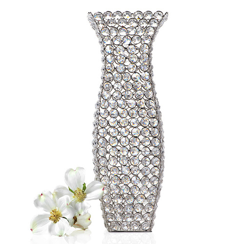 Decorative Crystal Flower Vase