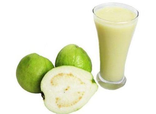 Fresh White Gauva Fruit Pulp