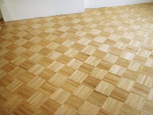 Natural Mosaic Parquet Hardwood Flooring