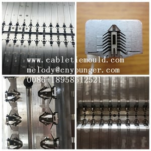 High Strength Fir Tree Cable Tie Mould