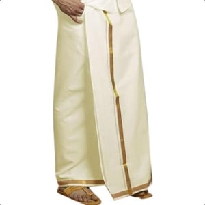 Mens Daily Wear Traditional Cotton Dhoti