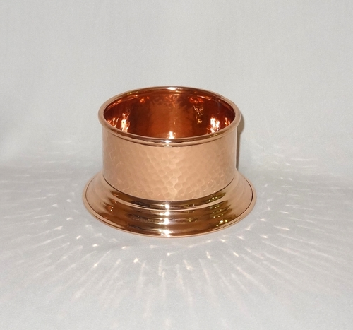 Round Copper Bottle Holder