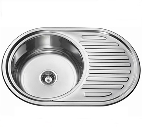 Rust Resistant Stainless Steel Kitchen Sink With Drain Board Ls7750 At Price Usd25 Usd Bag In Guangzhou Id 6514539