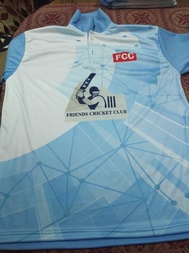 Customized Printed Cricket Uniform T-Shirt