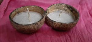 Light Weight Coconut Candle
