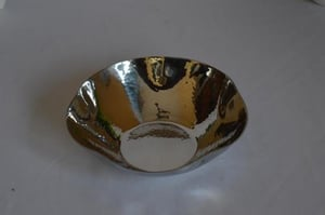 Stainless Steel Round Hammered Bowl