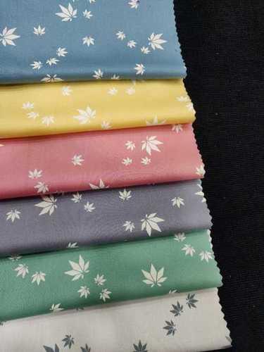 Cotton Printed Dobby Shirting Fabric
