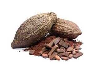Natural Cocoa Coffee Beans