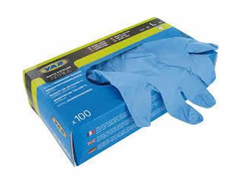 Blue Disposable Nitrile Hand Gloves