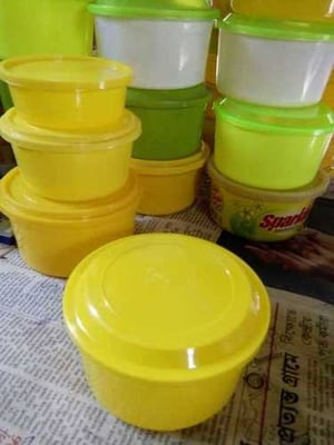 Round Dish Wash Soap Containers