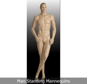 Standing Adult Male Mannequin