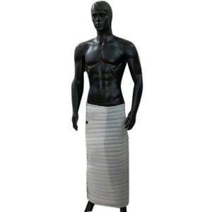 Standing Black FRP Male Mannequin