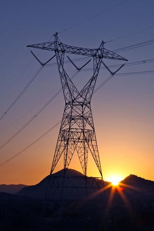 Electrical Power Transmission Tower