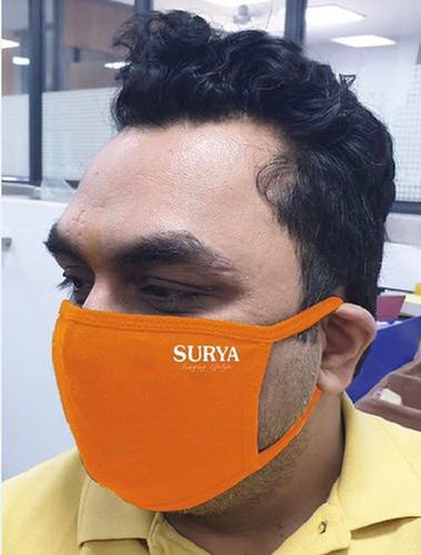 Printed Earloop Cotton Face Mask