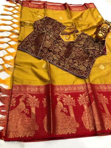 Aura Saree With Ready Blouse