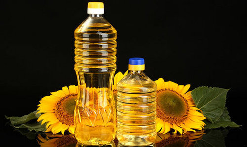 Clear Refined Sunflower Oil