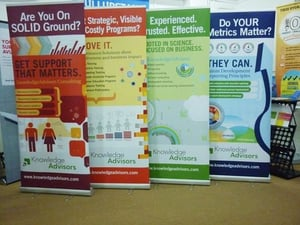 Roll Up Banner Stand And Standee